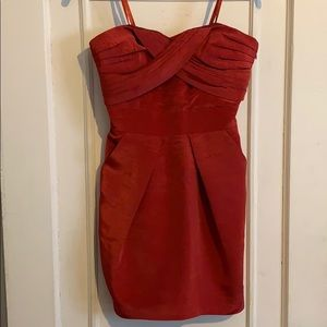 BCBGeneration Red Cocktail Dress